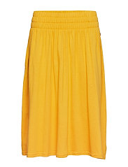 Jenni Jersey Skirt - MINERAL YELLOW