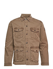 Darren Safari Jacket - BEECH GREEN