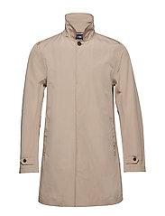 Pierce Overcoat - SILVER MINK