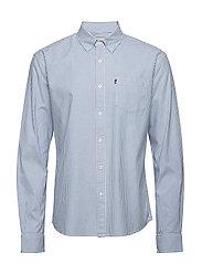 Kyle Oxford Shirt - CLASSIC BLUE/WHITE STRIPE
