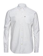 Kyle Oxford Shirt - BRIGHT WHITE