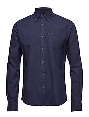 Kyle Oxford Shirt - NAVY BLUE