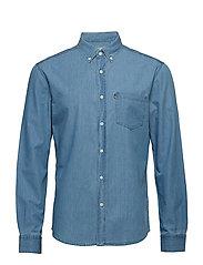 Clive Denim Shirt - LT BLUE DENIM