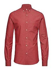 Clive Denim Shirt - RED