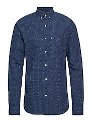 Clive Twill Shirt - DOT PRINT