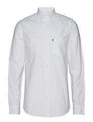 Taylor Poplin Shirt - BRIGHT WHITE