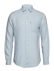 Ryan Linen Shirt - LIGHT BLUE
