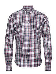 Jones Checked Shirt - RED/BLUE/WHITE CHECK