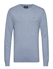 Bradley Crewneck Sweater - LIGHT BLUE MELANGE