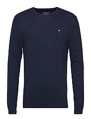 Bradley Crewneck Sweater - NAVY BLUE