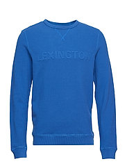 Shane Pique Sweatshirt - TRUE BLUE