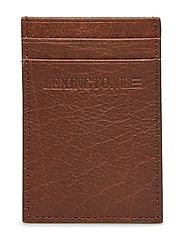 Hobson Leather Cardholder - COGNAC