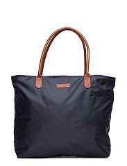 Mayflower Nylon Tote Bag - NAVY BLUE
