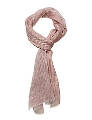 Colombus Scarf - RED/WHITE STRIPE