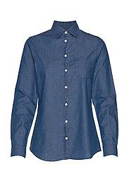 Emily Denim Shirt - MEDIUM BLUE DENIM