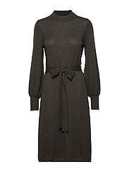 Jen Knitted Dress - GREEN