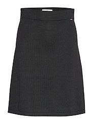 Chastity Knitted Skirt - BLACK