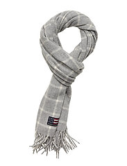 Massachusetts Scarf - GRAY CHECK