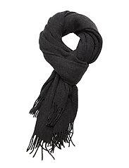 Aurora Wool Scarf - DARK GRAY MELANGE