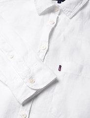 Lexington Clothing - Isa Linen Shirt - langermede skjorter - white - 2