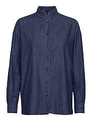 Edith Denim Shirt - DARK BLUE DENIM