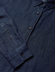 Lexington Clothing - Edith Denim Shirt - jeansblouses - dark blue denim - 4