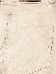 Lexington Clothing - Zoe Corduroy Pants - straight jeans - light beige - 4