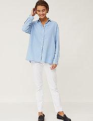 Lexington Clothing - Edith Denim Tencel Shirt - jeanshemden - lt blue denim - 0