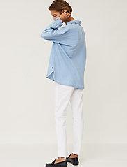 Lexington Clothing - Edith Denim Tencel Shirt - jeanshemden - lt blue denim - 4