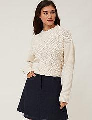 Lexington Clothing - Stella Linen Skirt - korta kjolar - dark blue - 4