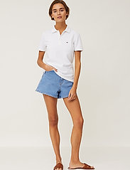 Lexington Clothing - Jess Pique Polo Shirt - polohemden - white - 0