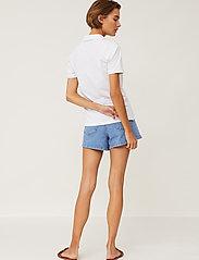 Lexington Clothing - Jess Pique Polo Shirt - polohemden - white - 3