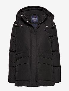 Emma Down Jacket - BLACK