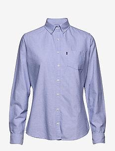 Sarah Oxford Shirt - LIGHT BLUE