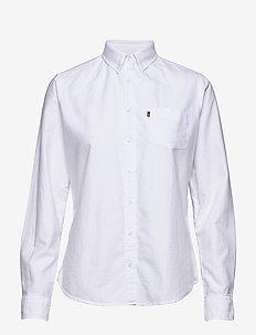 Sarah Oxford Shirt - WHITE