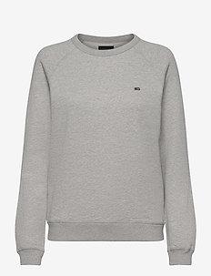 Nina Sweatshirt - sweats - gray melange