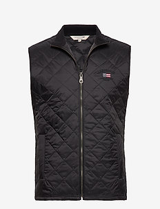 Gregory Quilted Vest - BLACK