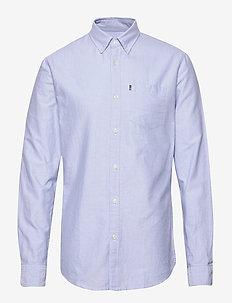 Kyle Organic Cotton Oxford Shirt - biznesowa - light blue