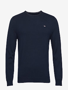 Bradley Crew Neck Sweater - DARK BLUE