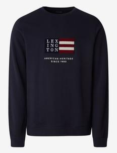 Barry Organic Cotton Sweatshirt - truien - dark blue