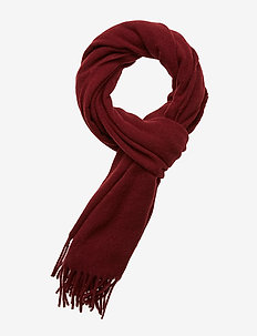 Massachussets Scarf - DARK RED
