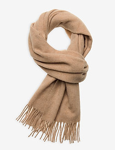 Massachussets Recycled Wool Blend Scarf - huivit - light beige melange