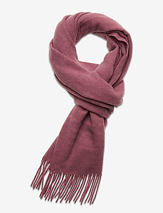Massachussets Recycled Wool Blend Scarf - huivit - pink