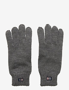 Connecticut Knitted Gloves - GRAY MELANGE