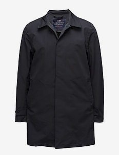 Pierce Overcoat - light coats - deep marine blue