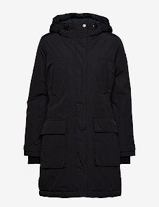 Pauline Down Coat - CAVIAR BLACK
