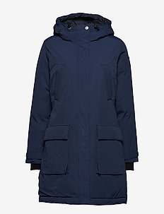 Pauline Down Coat - parka coats - deepest blue