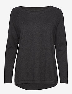 Lea Sweater - DARK GRAY MELANGE