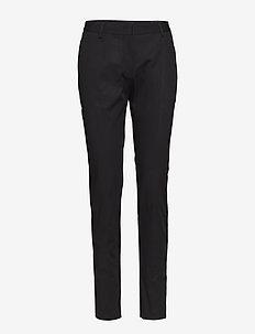Blake Narrow Leg Pants - CAVIAR BLACK