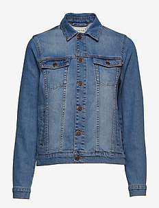 Marcie Blue Denim Jacket - LT BLUE DENIM